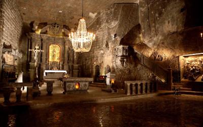 Minas de sal de Wieliczka