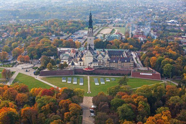 Czestochowa, monasterio de los Padres Paulinos de Jasna Gora