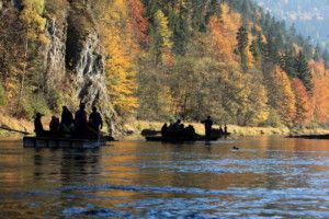 Dunajec River Rafting tour from Krakow