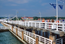 Muelle en Sopot