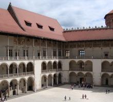 Cracovia, castillo de Wawel