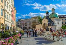 Centro histórico de Cracovia