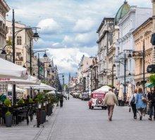 Calle Piotrkowska en Lodz